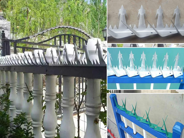Anti Climbing Razor Spikes Fencing Spikes Security Spikes